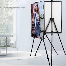 artist folding painting easel adjule tripod display stand w floor metal bag 719279381351