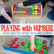 DEVELOPING NUMBER SENSE: easy ideas for building number sense with toddlers  and preschoolers; awesome