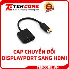 Cáp chuyển đổi Displayport sang HDMI – TEKCORE - Cung cấp Gaming Gear PC WS  Tản nhiệt nước Giá TỐT NHẤT!