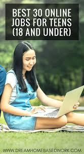Jobs for teens online
