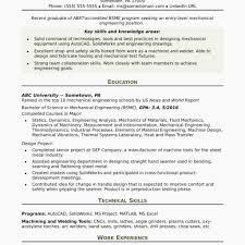 Mechanical Engineering Resume Templates Mechanical Resume Samples
