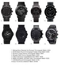 watches fashiontuitive tags black watches christmas gifts gift ideas men s gifts watches