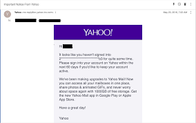 Yahoo Email Address Is A Long String Of Random Letters And Numbers