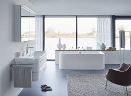 Duravit Happy D BackToWall  X Mm Bath With Panel And - Duravit bathroom