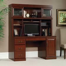 Sauder Heritage Hill Computer Credenza Desk with Optional Hutch   Hayneedle