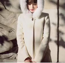2018 women s coats fur hooded cape white hooded woolen coat collar ovo dark on wool coat women winter coat 2016 now from huangjingyun 25 13 dhgate