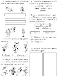 Поглазова Ольга Итоговые контрольные работы по предмету  2 й класс