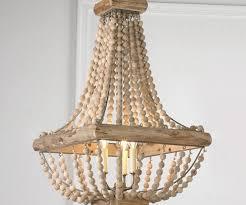 new diy wooden chandelier
