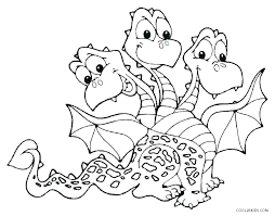 Dragon Printable Coloring Pages Realistic Dragon Sketch Free