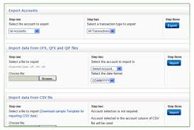 Quick Budget Tool Import Export Your Personal Budget Financial Data Anytime