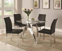 square glass dining table. 53 Most Superlative 4 Seater Glass Dining Table Sets Round Kitchen For Square Black Room Set L