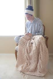 Cable Knit Blanket Pattern Unique Design Inspiration