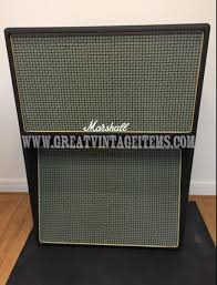 Early 1970's Vintage Marshall Model 2056 Speaker Cabinet with 2 x ...