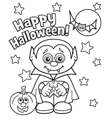 Cute Halloween Pictures To Col On Bats Coloring Page Bat Cartoon