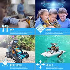 Sillbird STEM 12-in-1 <b>Education</b> Solar <b>Robot Toys</b> -190 Pieces DIY ...