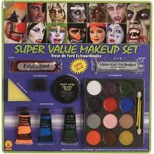 halloween makeup kit for kids. amazon com super value clown make up kit toys games. halloween makeup for kids
