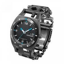Наручные <b>часы LEATHERMAN Tread Tempo</b> Black — купить по ...