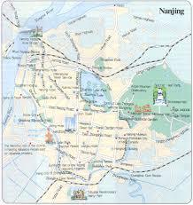 nanjing travel maps   printable metro (subway) and