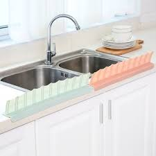 Water Splash Guard Baffle Board Sucker Wash Basin Sink Board Kitchen