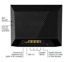 amazon com netgear ac1200 wifi dsl non cable modem router d6200