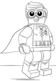 Small Picture Harley Quinn from The LEGO Batman Movie coloring page from The