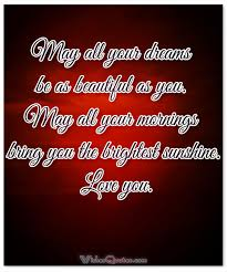 Goodnight Love Quotes Magnificent Romantic Goodnight Messages Images For Someone You Love