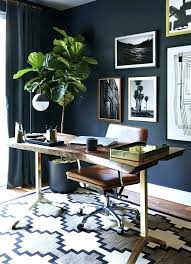 masculine office rug oriental rugs gray wall home office home interior ideas pictures