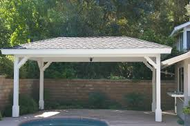 Flowy Free Standing Patio Cover Plans F88X About Remodel Stunning