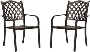 stackable outdoor patio dining chairs