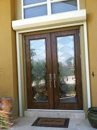custom decorative door glass inserts radiance circle design