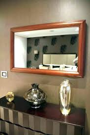tv mirror diy mirror mirror um size of frame for wall mounted finished mirror frame two
