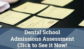 medical school admissions consulting dental assessment ad