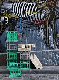 urban furniture melbourne. Milk Crates, Reclaimed, Urban, Recycled, Pallet, Timber, Design, Laneway Art, Furniture, Melbourne, Bryan Cush, Sawdust Bureau Urban Furniture Melbourne