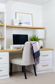 home office nook. A DIY Built-in Office Nook Provides The Perfect Space For Home Or