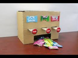 How To Make Candy Vending Machine At Home Extraordinary How To Make MULTI Chewing Gum Vending Machine At Home DIY YouTube