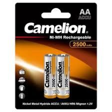 «NiMH <b>аккумулятор AA Camelion</b> 2500mAh 1.2V» — Батарейки и ...