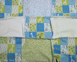 Flannel Quilt Patterns Delectable Magical Flannel Rag Baby Quilt Tutorial FaveQuilts