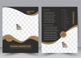 flyer template vector ilration with checd background