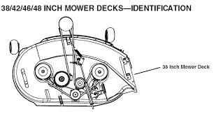 john deere stx38 belt diagram yellow deck john black deck home john