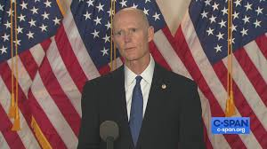 Senator Rick Scott Speaks to Reporters ...