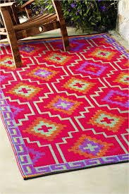 fab habitat indoor outdoor patio rug mat lhasa orange purple choose