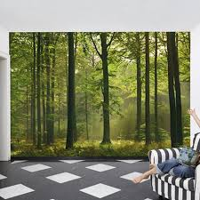 forest mural forest wall mural wall