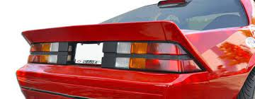 Duraflex 82 92 Chevy Camaro Xtreme Wing Trunk Lid Spoiler Kit Camaro Chevrolet Camaro Chevy Camaro