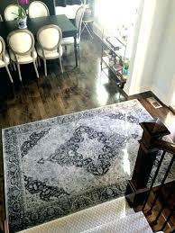 indoor entry rugs outdoor foyer half round monogrammed