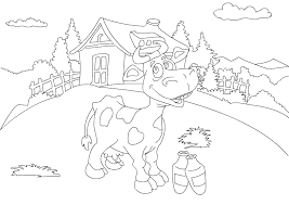 Farm Animal Coloring Pages For Toddlers At Getdrawingscom Free