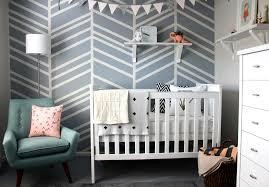 8 8 diy herringbone accent wall for the nursery