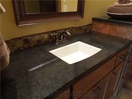 higher standard quality black quartz stone solid surface and countertop with bright surface non porous standard sizes 108 26inch at more durable