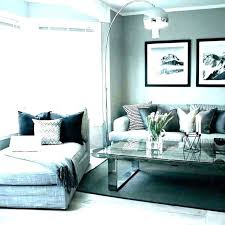 light grey walls living room dark accent wall blue gray