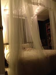 Popular of DIY Canopy Bed With Lights with 1000 Ideas About Bed ...