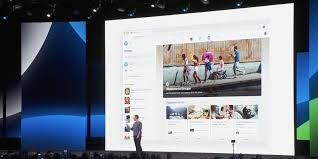 Facebook Website Design Facebook Shows Off Next Major Design Including New Logo